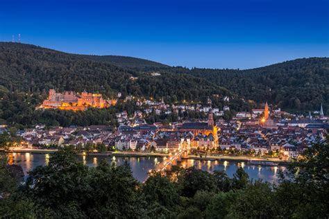 Heidelberger Schloss und Altstadt auf dem Siegerpodest