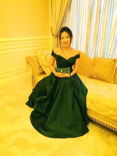Cambodian dress for join wedding. khmer   Cambodia dress