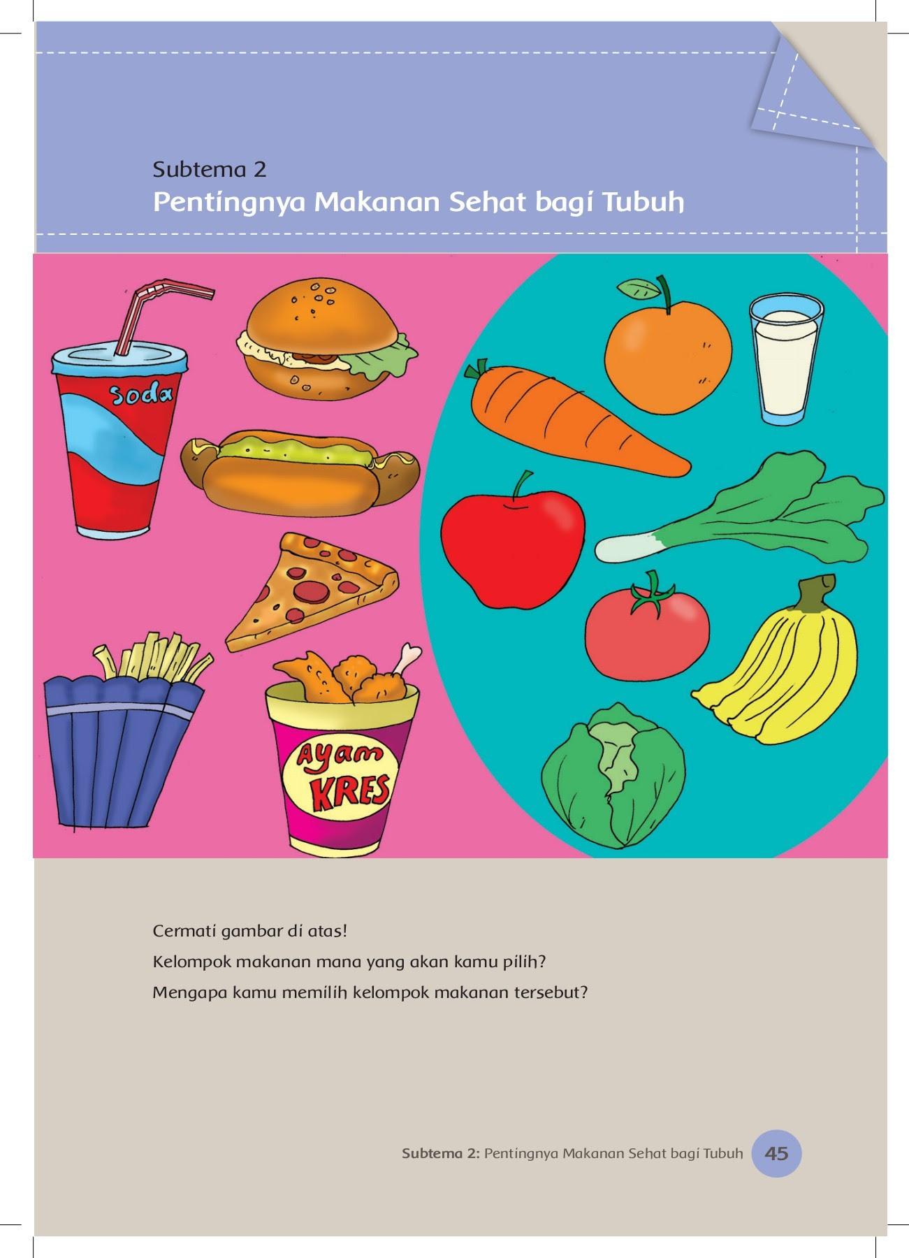 Download Contoh Gambar Iklan Makanan Sehat