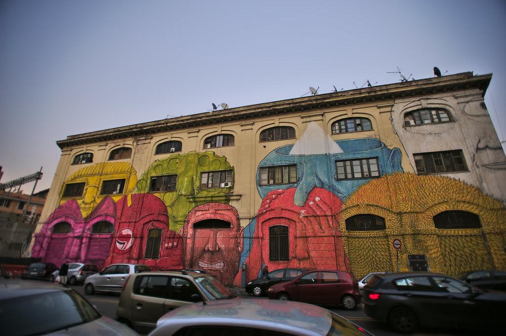 Blu's Graffiti