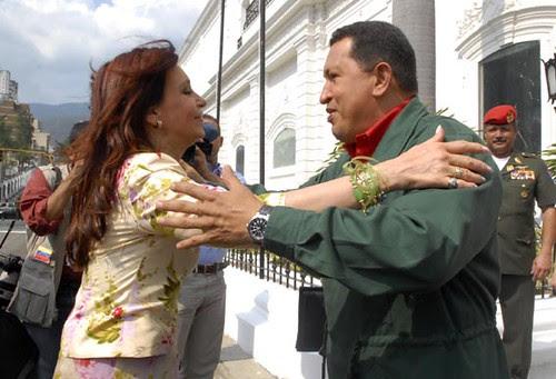 Cristina and Chavez