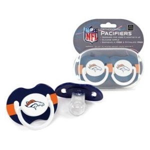 NFL Denver Broncos 2 Pack Pacifier