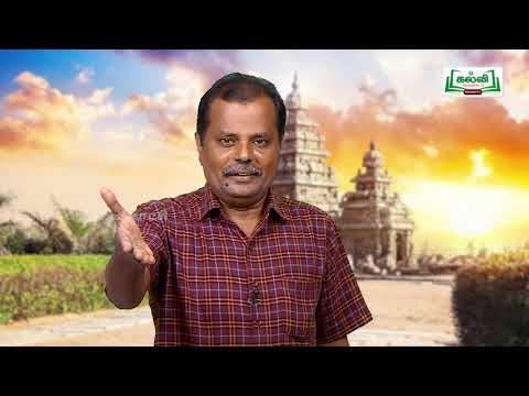 வகுப்பு 10 தமிழ் 6கலை அழகியல் புதுமைகள் கவிதைப் பேழை கம்பராமாயணம் பாகம் 2 Kalvi TV