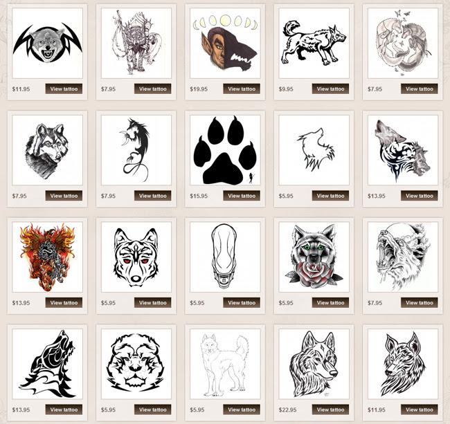 Wolf Tattoo Meanings Itattoodesignscom