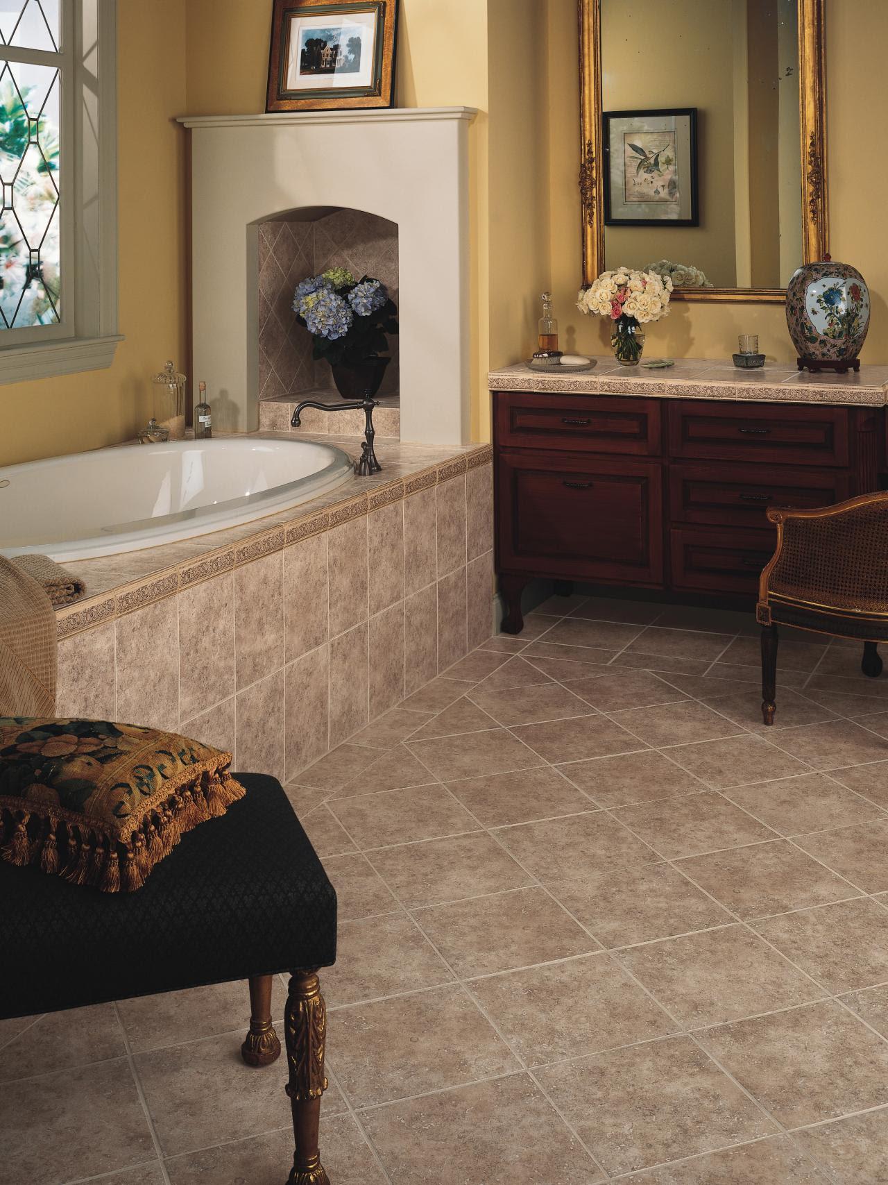 Choosing Bathroom Flooring | HGTV