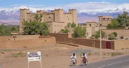 Kasbah auberge vallée du Dadès - Sud maroccain