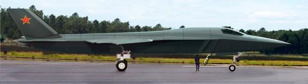 H-18 de mediano alcance supersónico bombardero furtivo 7