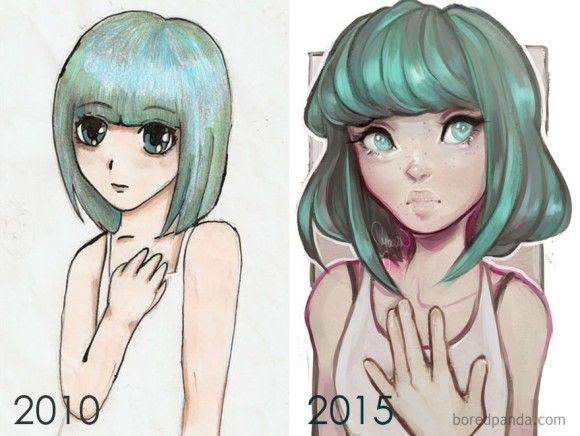 継続は力なり描き続けることでどんどん上達していった絵師たちの