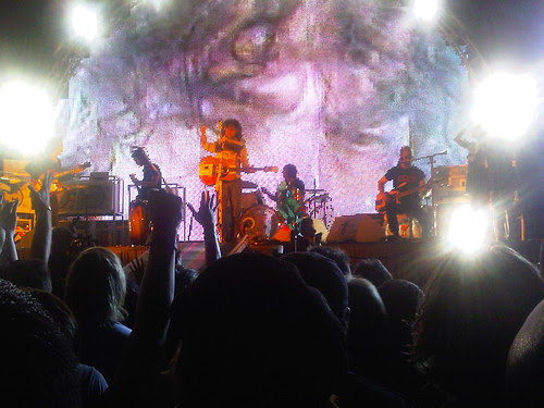 Flaming Lips at Boulevard Pool, Cosmpolitan Las Vegas by zenhikers