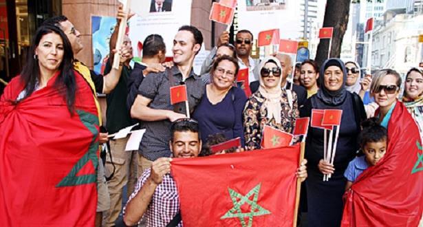 Sahara marocain: la communauté marocaine en Australie manifeste contre les propos de Ban Ki-moon