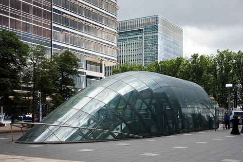 Canary Wharf Underground Station, London, United Kingdom, by jmhdezhdez