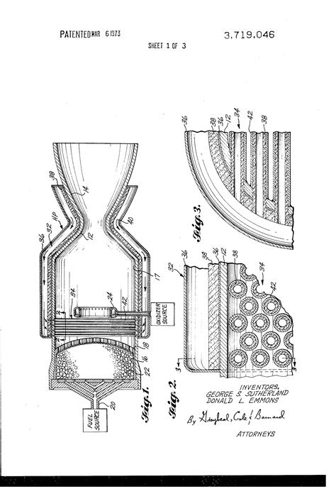 Patent US3719046 - Rocket engine cooling system - Google