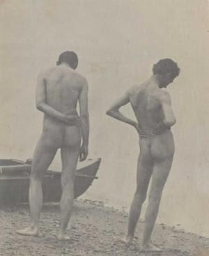 Thomas Eakins - backs in art