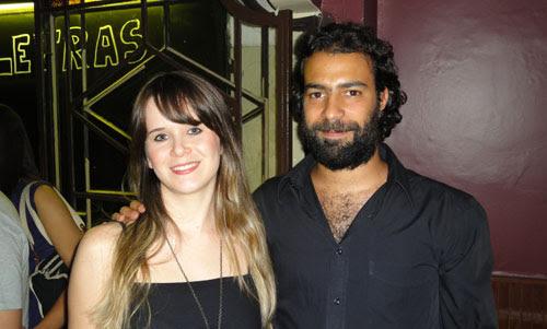 Beber & HQ 06 no afé com letras em BH, Ila Fox e Rafael Coutinho