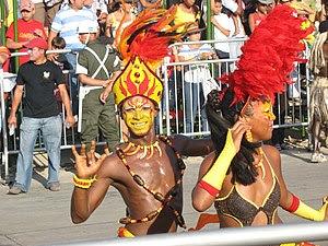 Bailarines del Carnaval de Barranquilla