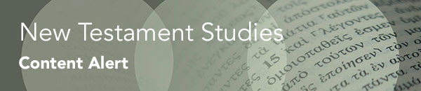 Click here to visit New Testament Studies