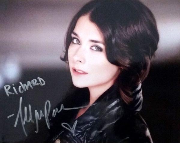 My autograph by Allison Paige.