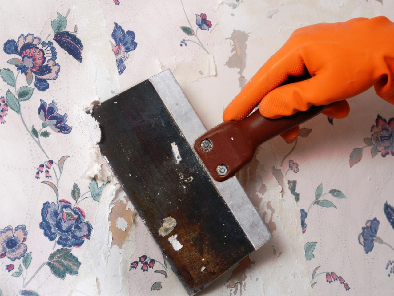 How to Remove Wallpaper Using Solvents or Steam  howtos  DIY