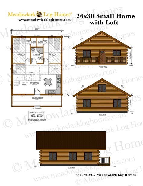 log home wloft meadowlark log homes