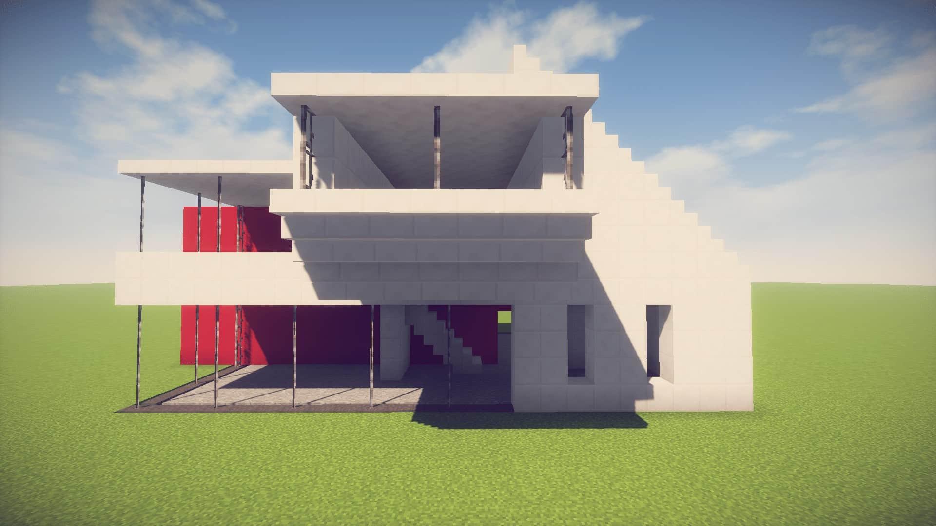 Minecraft Futuristic House Designs
