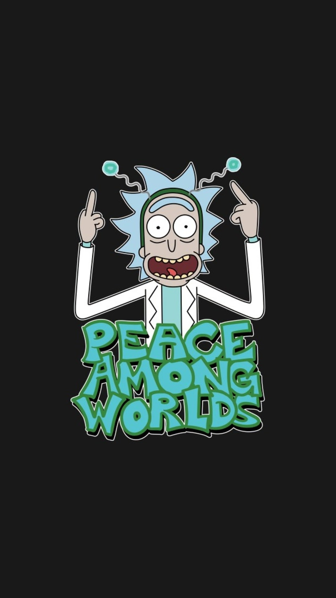 Rick Sanchez Rick And Morty Hd Wallpaper For Mobile Phones