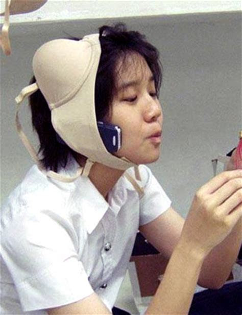 Hands Free Cell Phone » Funny, Bizarre, Amazing Pictures