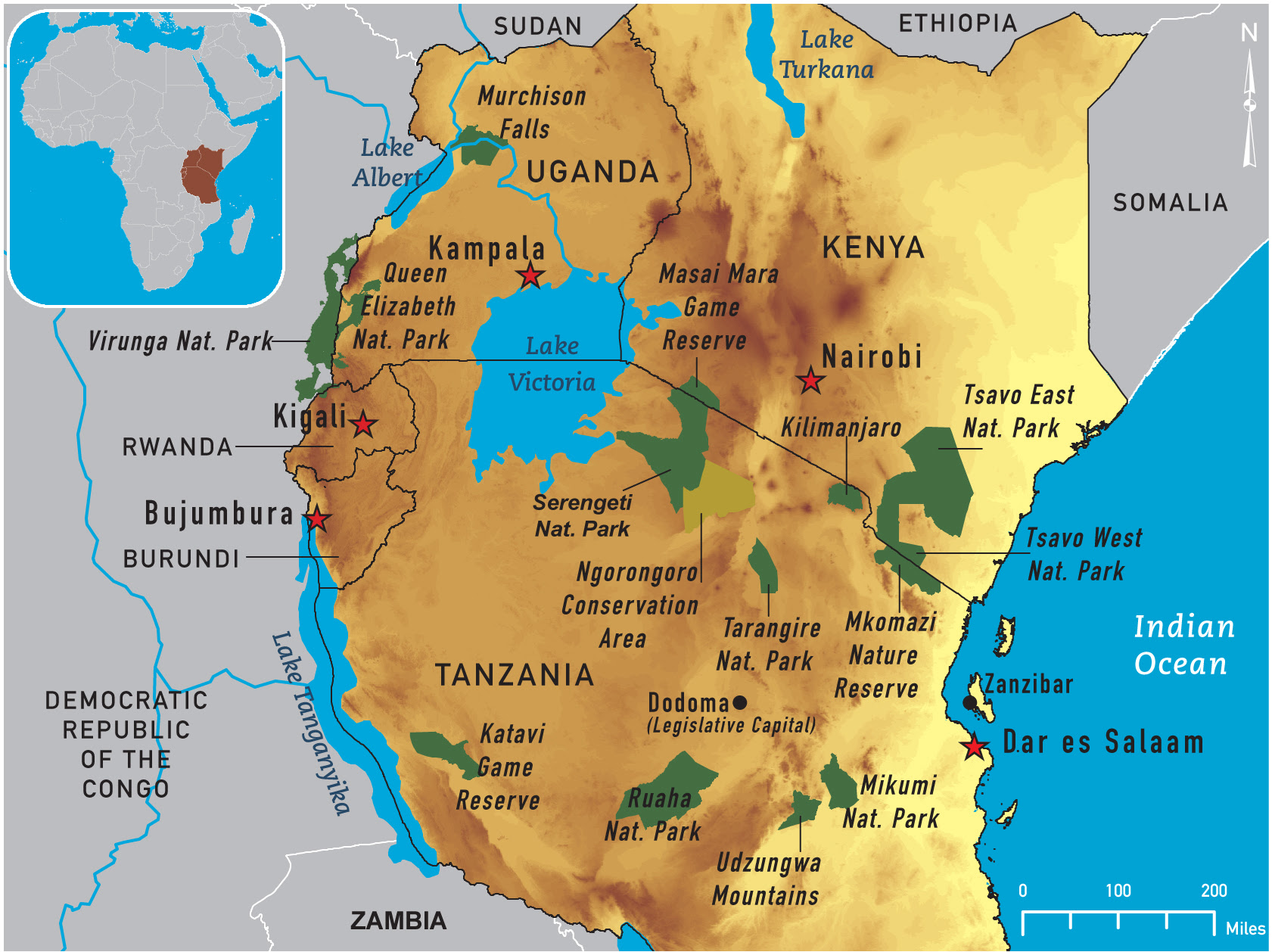 Map Of Africa Lake Victoria Map Of Africa