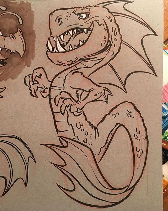 cartoon-dragon-art-9