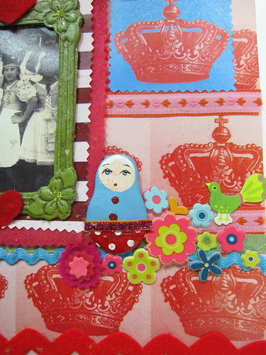 Matryoshka Scrapbook Layout! 4