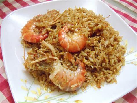 life  colorful nasi goreng udang galah