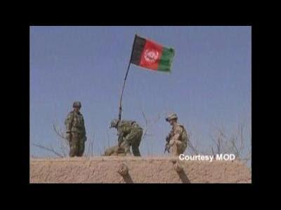 Afghan war scenes