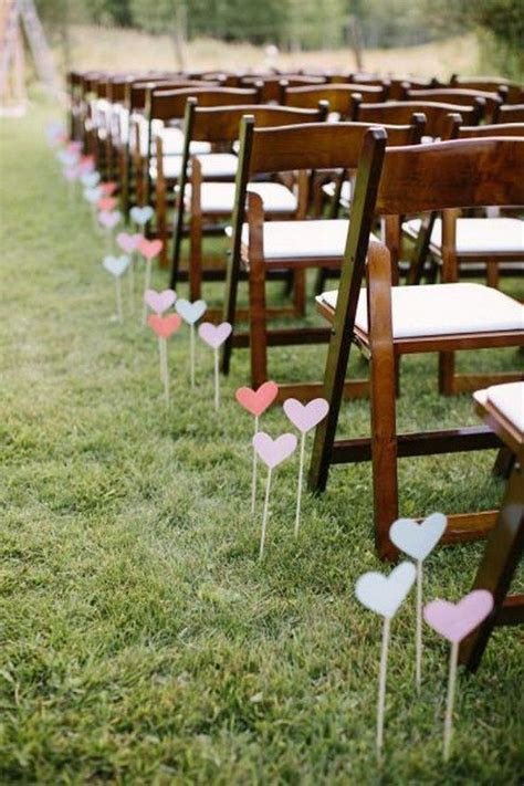 100 Awesome Outdoor Wedding Aisles You?ll Love   Wedding