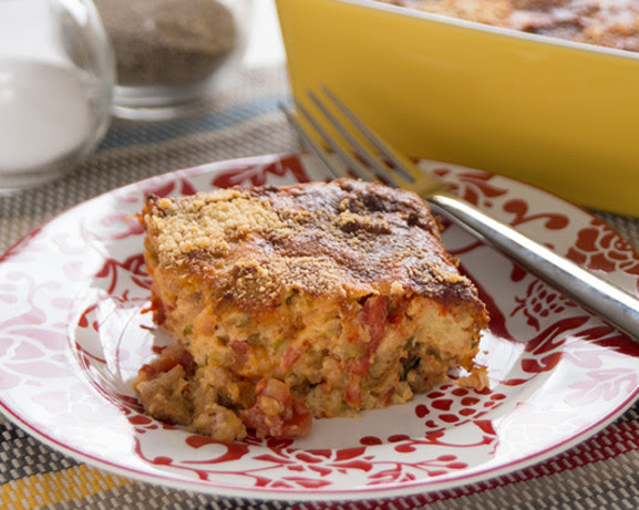Savory Breakfast Bread Pudding Recipe - Food.com