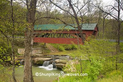 Helmick Mill (Island Run) Covered Bridge, Morgan County, Ohio
