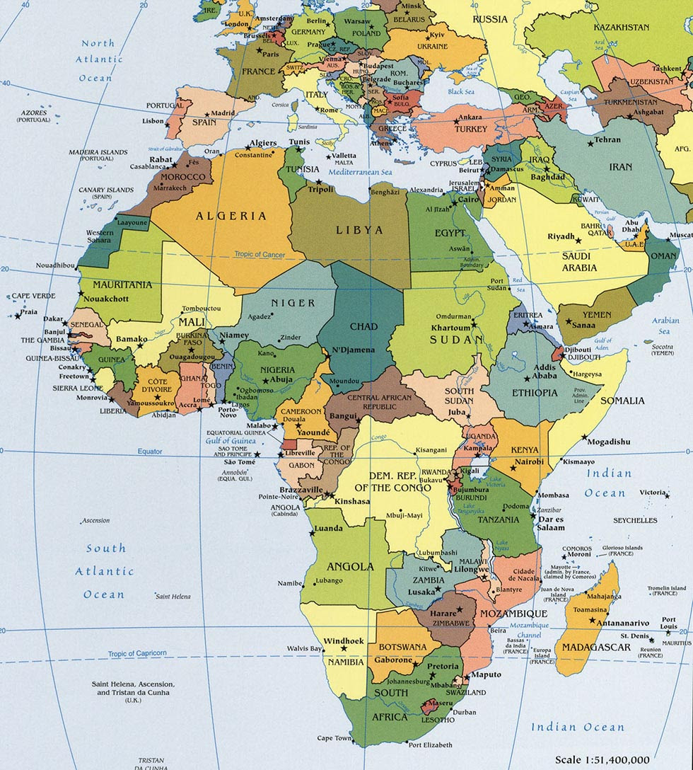 Map Of Africa Political.Map Of Africa Political Map Of Africa
