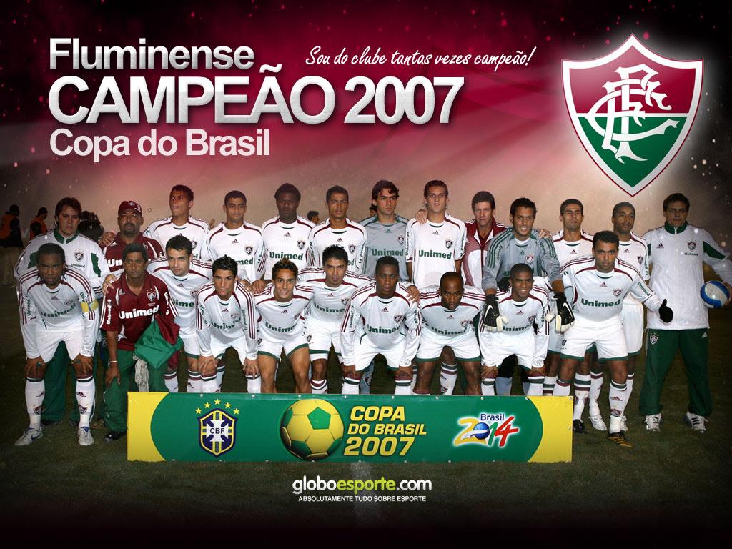 Fluminense campeão da Copa do Brasil
