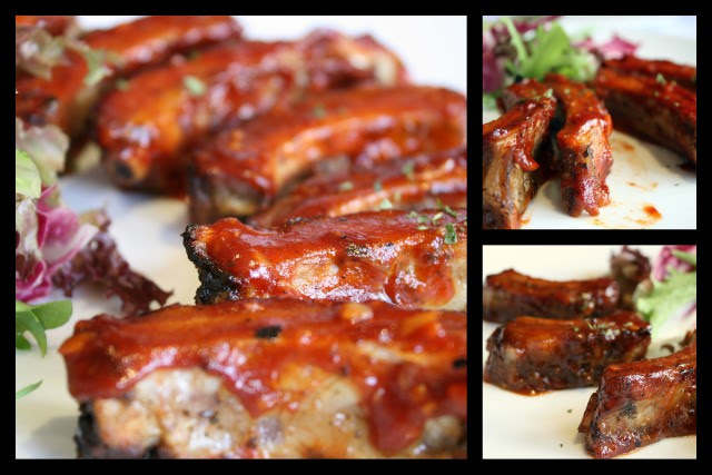 Baby Back Pork Ribs in 3 flavours