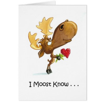 I Moost Know... - Funny Valentine's Day Card