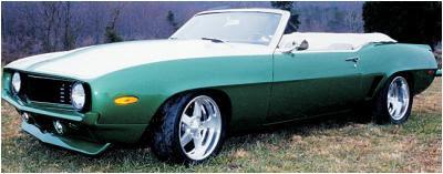 Classic Automotive Restorations '69 Camaro