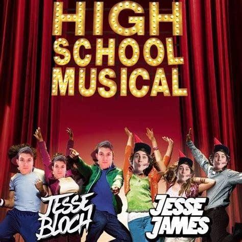 high school musical cast breaking  jesse bloch