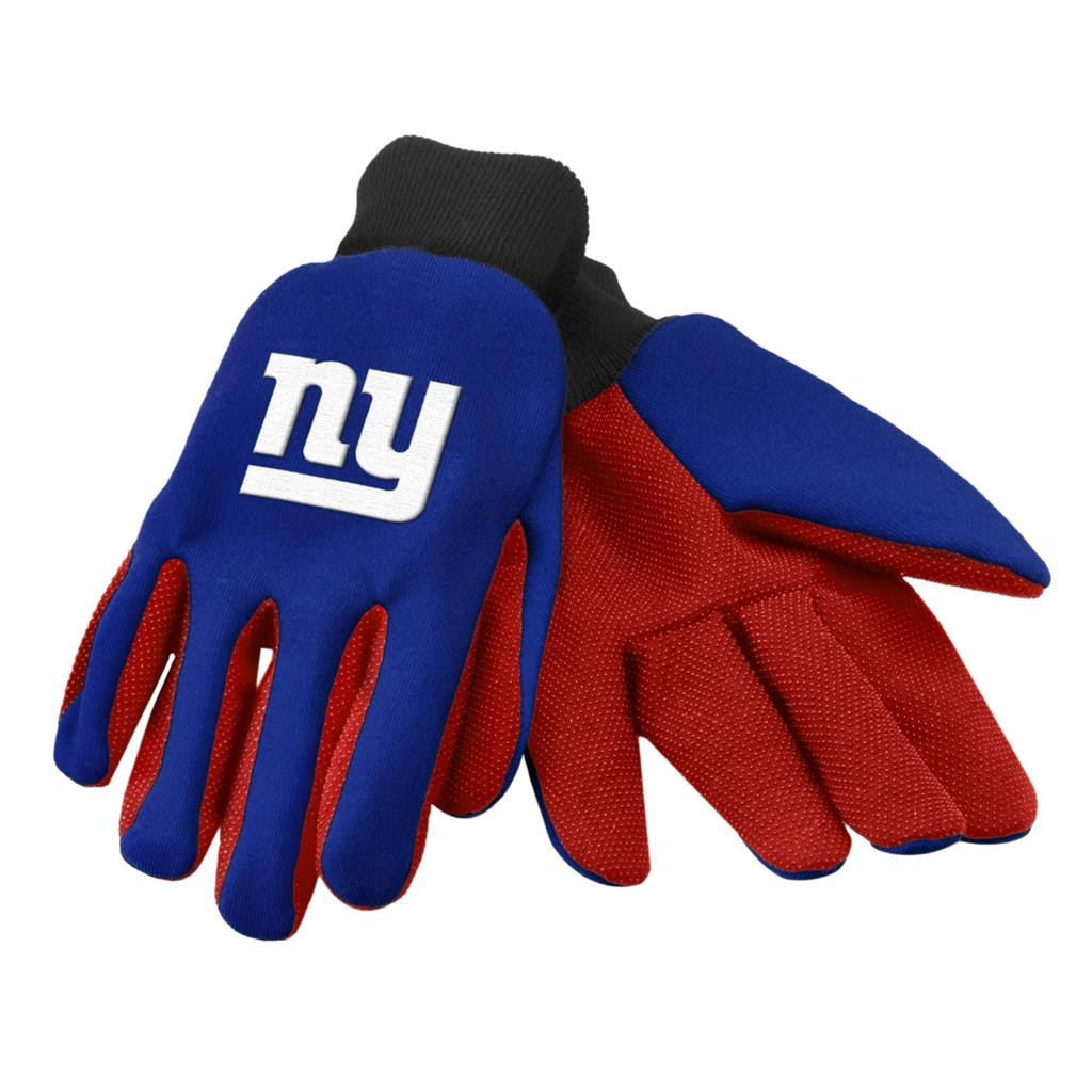 NFL Football Team Logo Work Utility Non Slip Gloves One Size Pick Team eBay