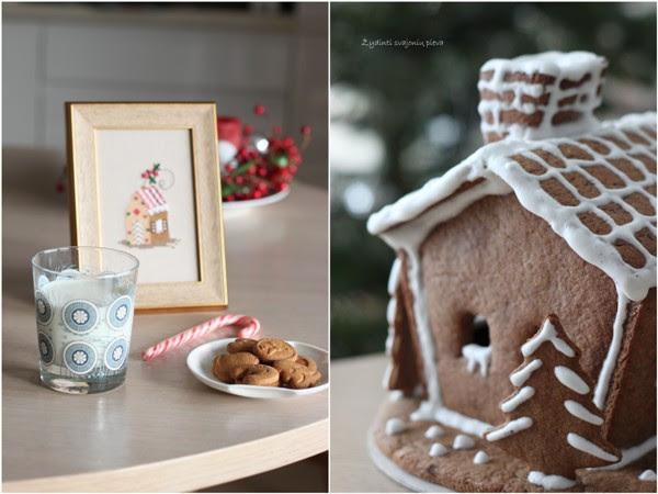 Christmas ginger house