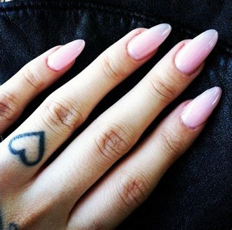 Light Pink Long Almond Nails ?   Nail Envy   Pinterest