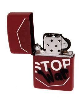 Red Matte Stop War