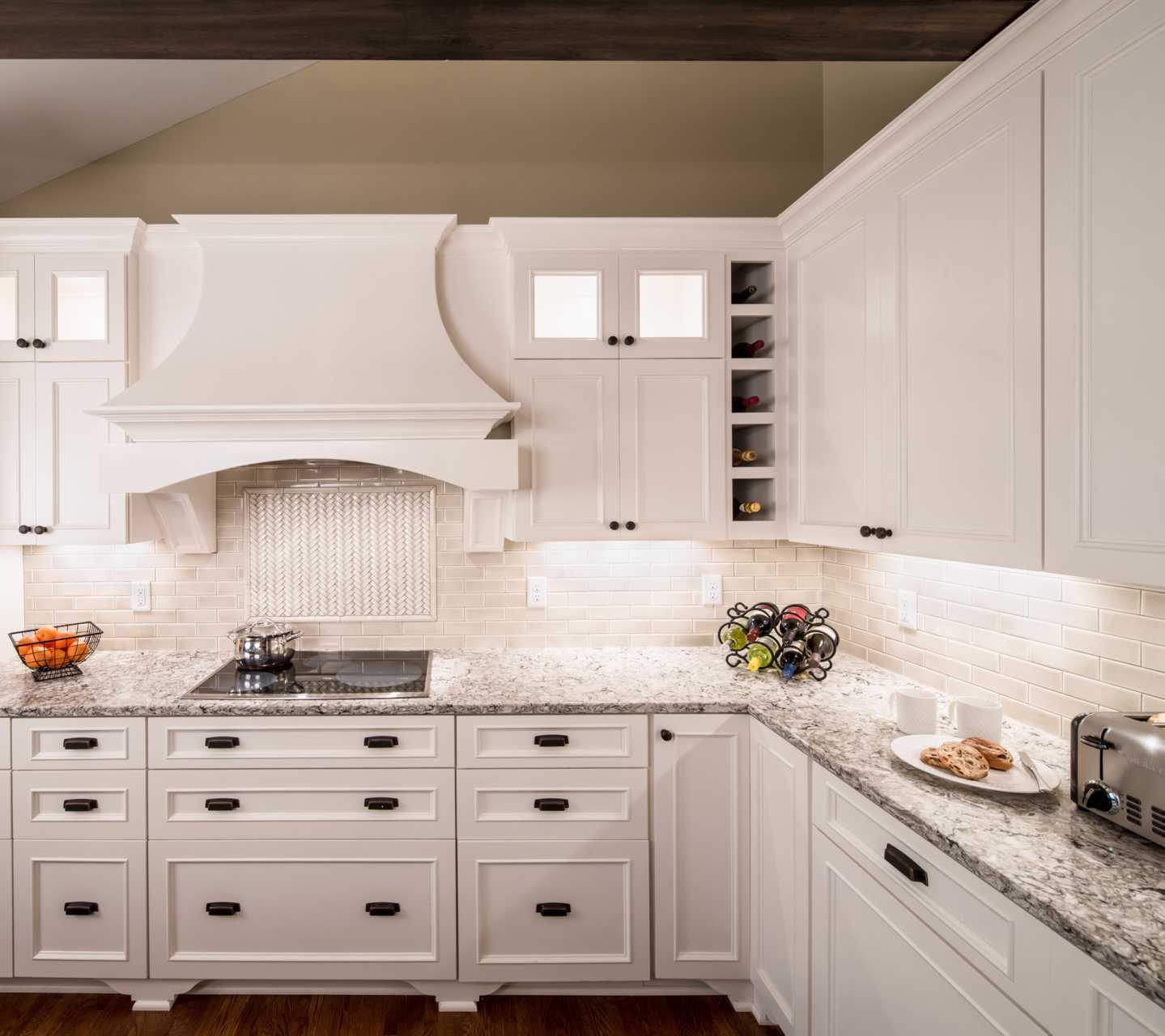 Cambria Bellingham White Cabinets Backsplash Ideas