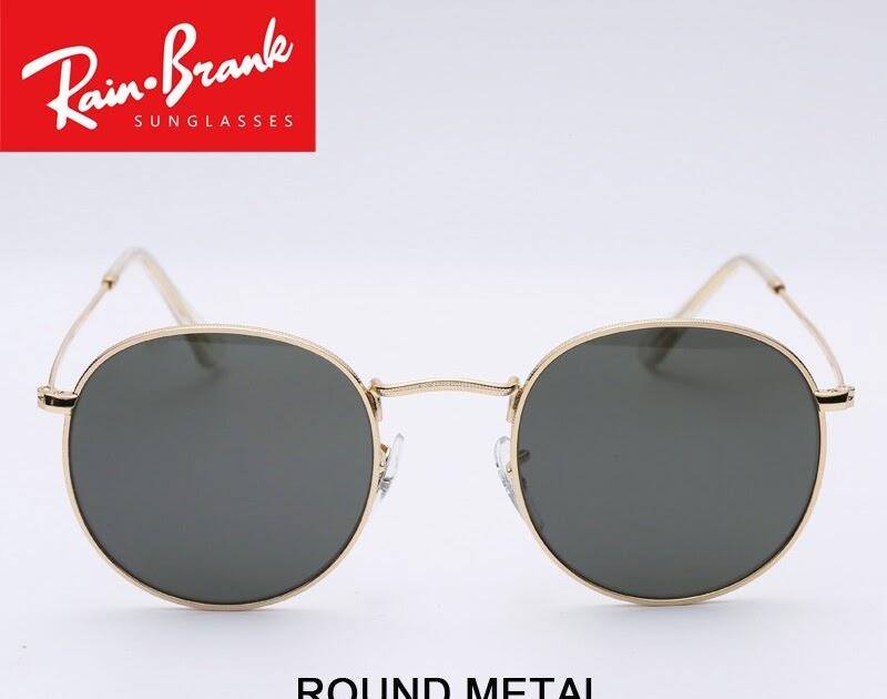 31a117884 Comprar Redonda De Metal Óculos Sol Design Para As Mulheres Homem óculos  UV400 Lentes Modelo 3447 Masculino Feminino Shades Culos Todos Os Pacotes  Baratas ...