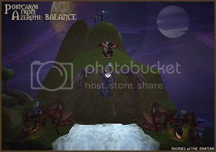 Postcards of Azeroth: Balance, by Rioriel Ail'thera