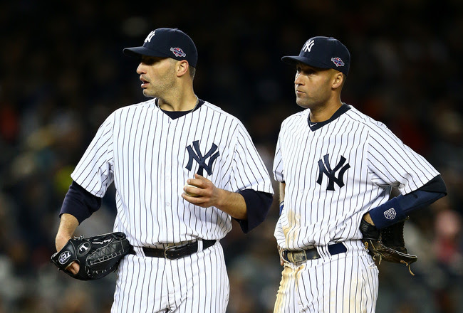Andy Pettitte, Derek Jeter and the Yankees have a big task this September--get into the second Wild Card spot.