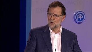 Rajoy en un acte amb les Noves Generacions del PP a Còrdova