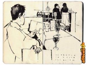 Il taccuino di Alessandro Carloni in mostra a Urbino fino al 30 agosto